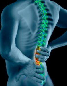 lesiones de la espalda