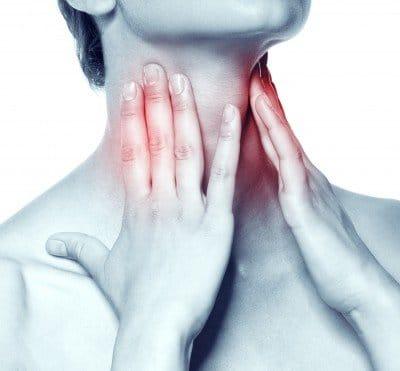 síntomas de la amigdalitis