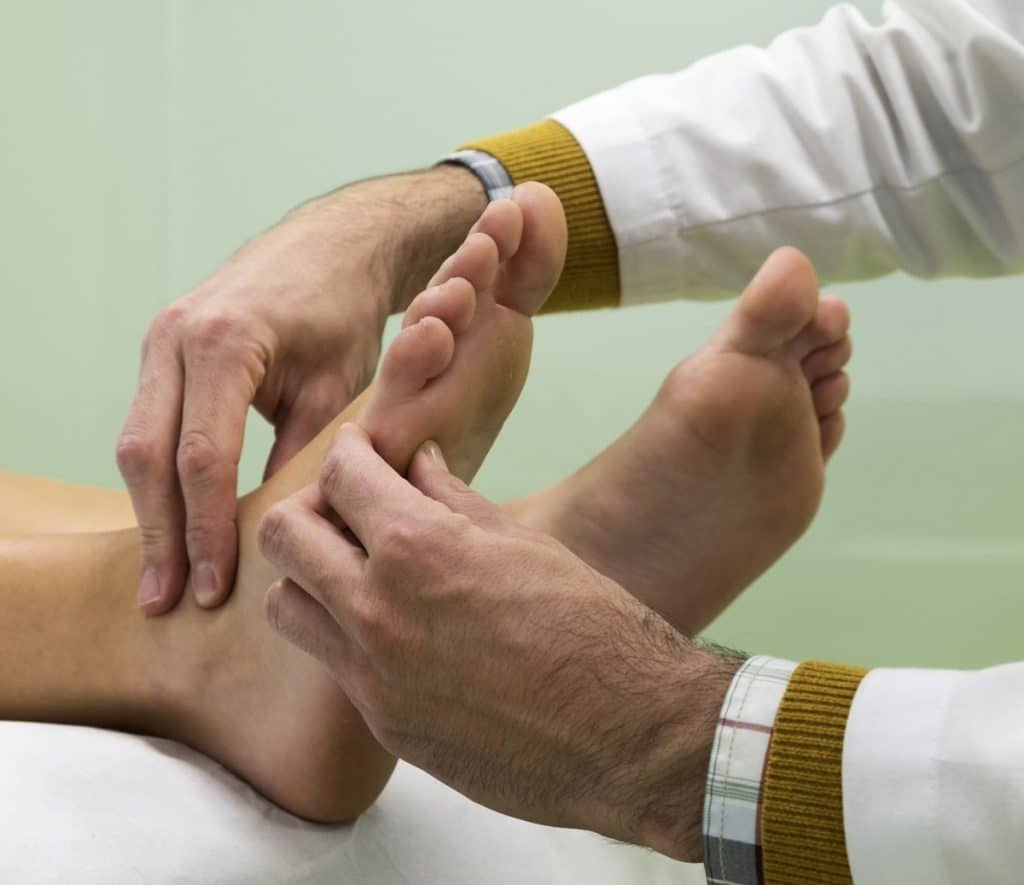 Psoriasis en los pies
