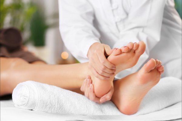 Celulitis en los pies